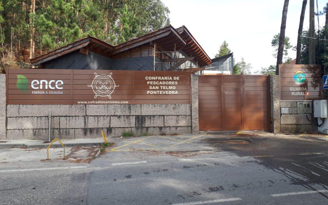 ENCE vuelve a colaborar con la cofradía de pescadores San Telmo de Pontevedra